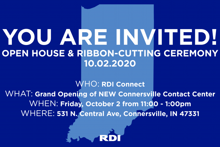 RDI Connect Connersville Indiana Open House Ribbon Cutting Ceremony October 2nd